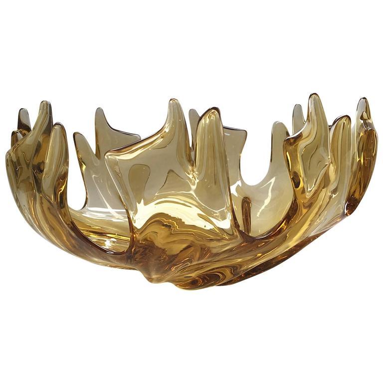 Barovier e Toso Murano Glass Bowl