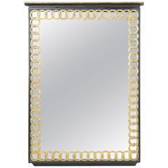 Hollywood Regency Style Mirror
