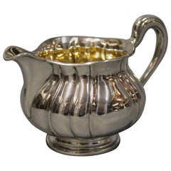 Small Cream Jug in Hallmarked Silver by P. Hertz and Christian Fr. Heise, 1904-1