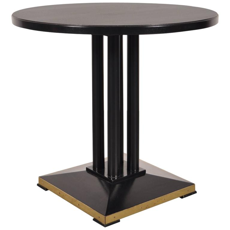 Side table by thonet france circa 1980 for sale at 1stdibs for Table thonet