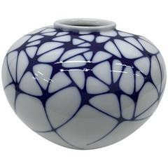 Porcelain Vase  Designed by Enzo Mari for KPM, 2003