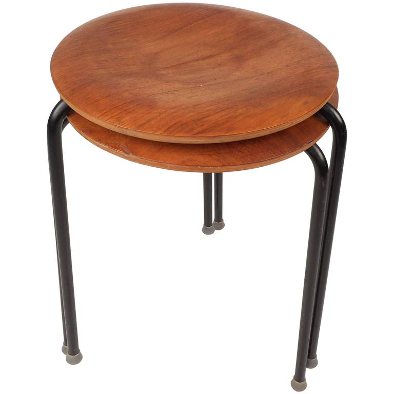 Mid-Century Modern Stacking Tables by Tony Paul