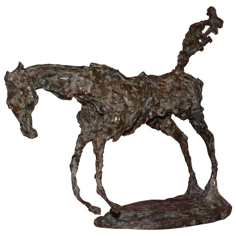 "Bronze Sculpture ""The Great Horse"" by Magdalena Reinharez"