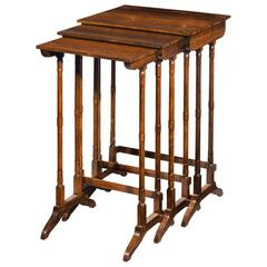 Trio of Regency Period Stacking Tables