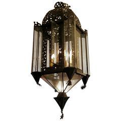 Moroccan Four-Light Hanging Lantern