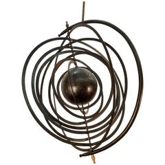 Orbit Metal Ceiling Sculpture