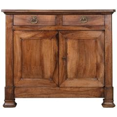 19th Century Walnut Louis Philippe Period Buffet or Sideboard