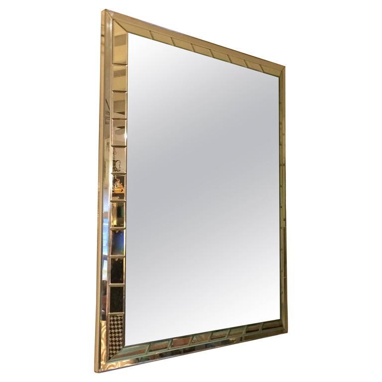 Monumental Mid-Century Modern Mirror