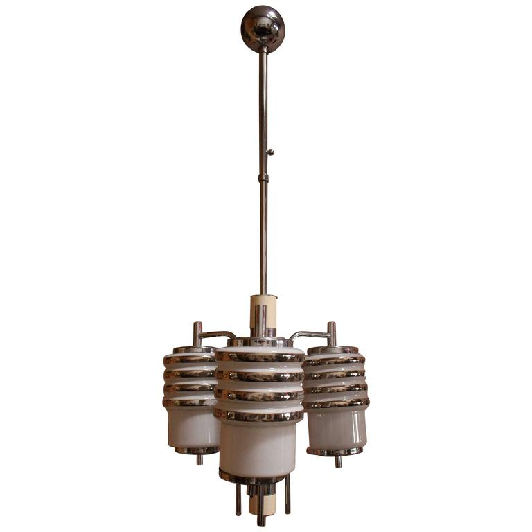 Art Deco Italian Chandelier For Sale