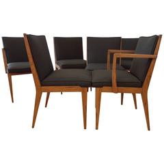 Edward Wormley Dunbar Six Dining Chairs