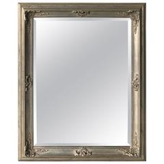 19th Century Style Silver Gilt Mirror