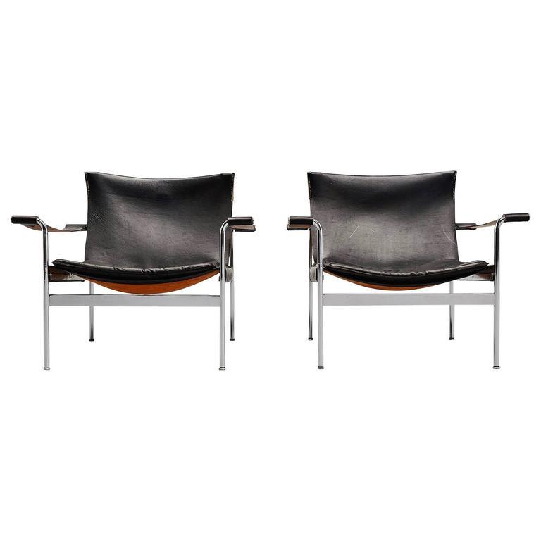 Hans Konecke Tecta Lounge Chairs, Germany, 1954