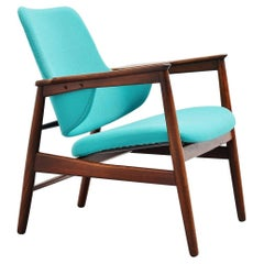 Ib Kofod-Larsen Easy Chair by Christensen & Larsen, Denmark, 1953