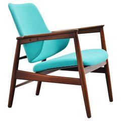 Ib Kofod-Larsen Easy Chair by Christensen & Larsen, Denmark, 1953