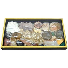 Vintage Rock and Mineral Collection