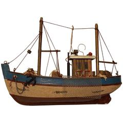 Sculpture of a Fishing Vessel