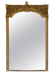 French Trumeau Napoleon III Gold Leaf