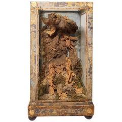 Nativity Scene in Neapolitan Baroque Style