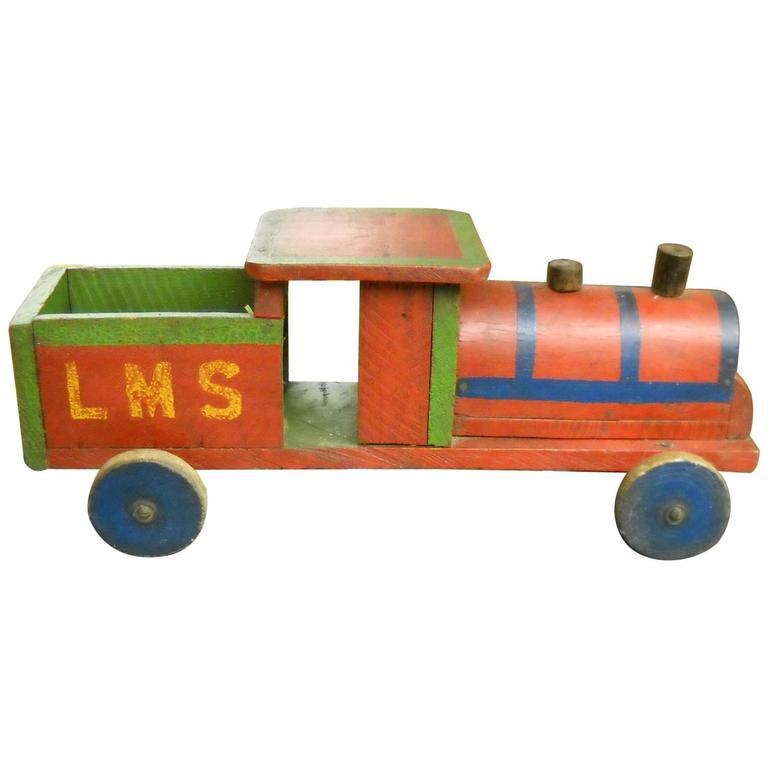 English Children's Toy Train