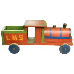 English Children's Toy Train