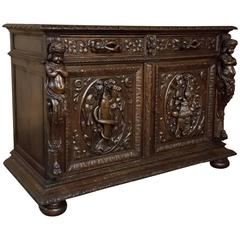 19th Century French Renaissance Hunt Buffet