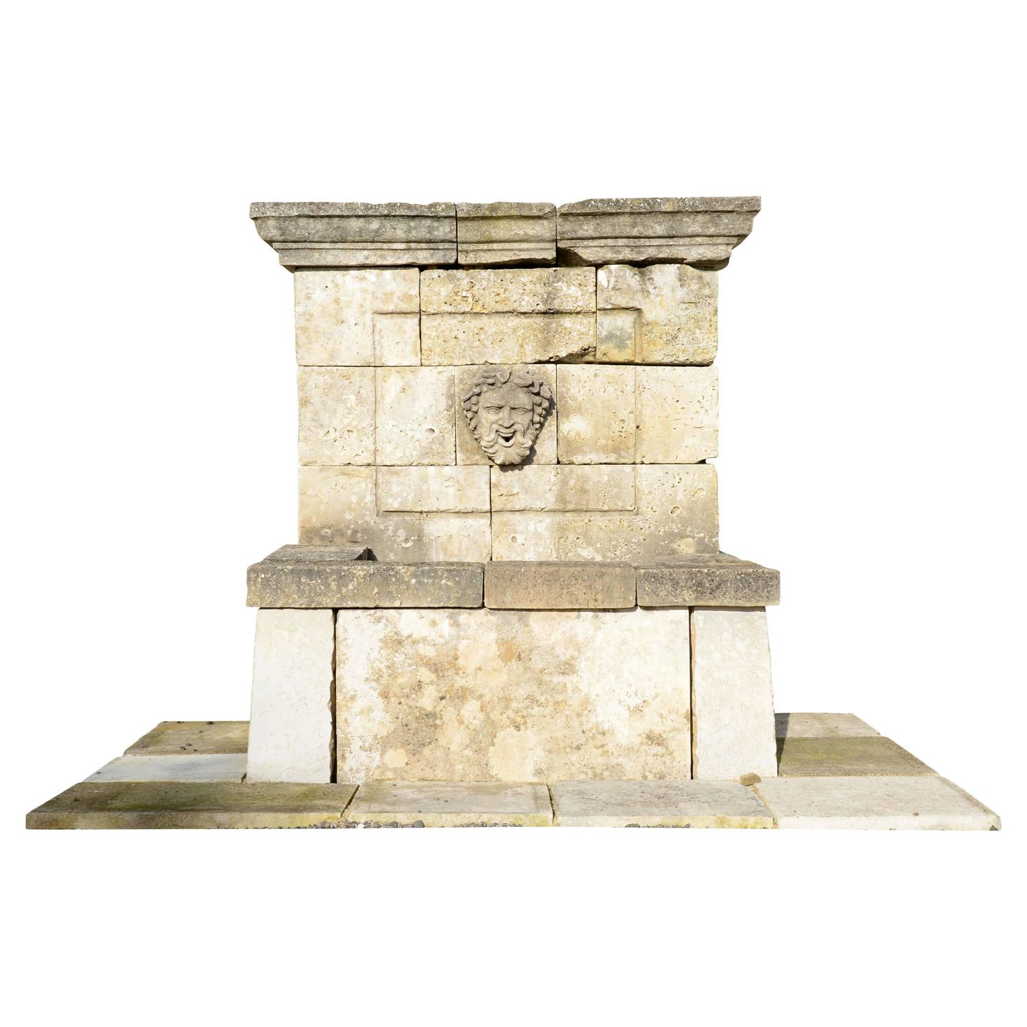 Top 28 style wall fountains sicily baroque style wall for Spanish style fountains for sale