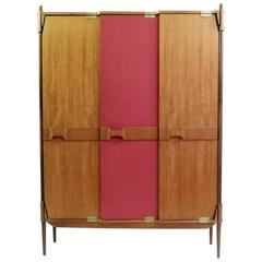 Entry Way Coat Cupboard, Italy, circa 1950