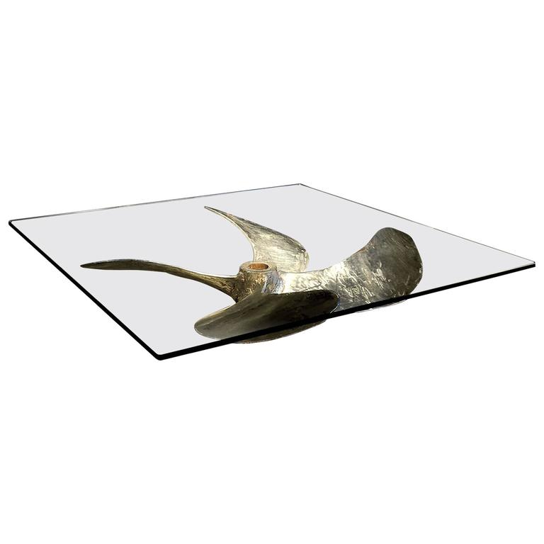Propeller Coffee Table Chinese Fishing Junks