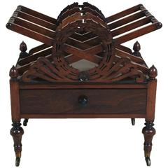 Regency Rosewood Canterbury Attributed to Gillows