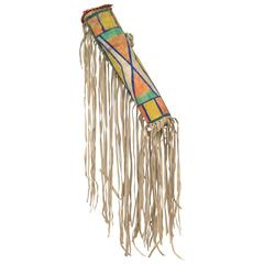 Native American Parfleche Bonnet Case