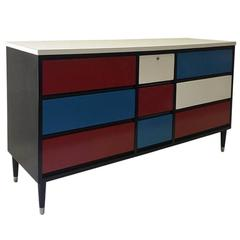 1950s Colorful Dresser by Morris of California