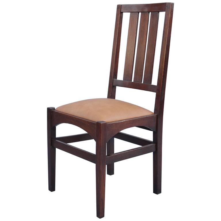 1910 Arts & Crafts Side Chair