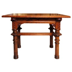 Walnut Library Table