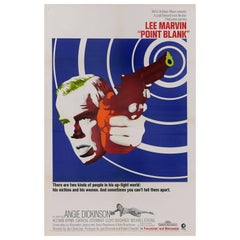 """Point Blank"" Original US Movie Poster"