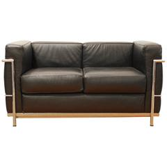 LC2 Sofa, by Le Corbusier for Alivar