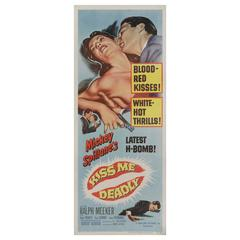 """Kiss Me Deadly"" Original US Movie Poster"