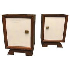 Pair of Two Tone End Tables