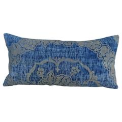 Early Fortuny Textile Pillow with Self Welt