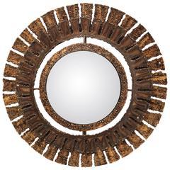 Brutalist Convex Mirror by Liger