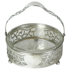 Sterling Handled Candy Dish
