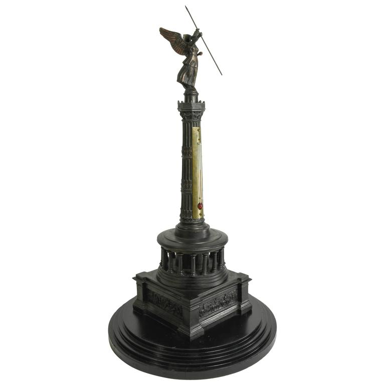 Very Scarce, Grand Tour, Model of the Siegessaule Monument, Berlin, circa 1873