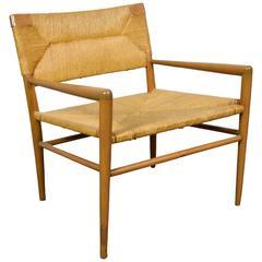 Mel Smilow Woven Rush Chair
