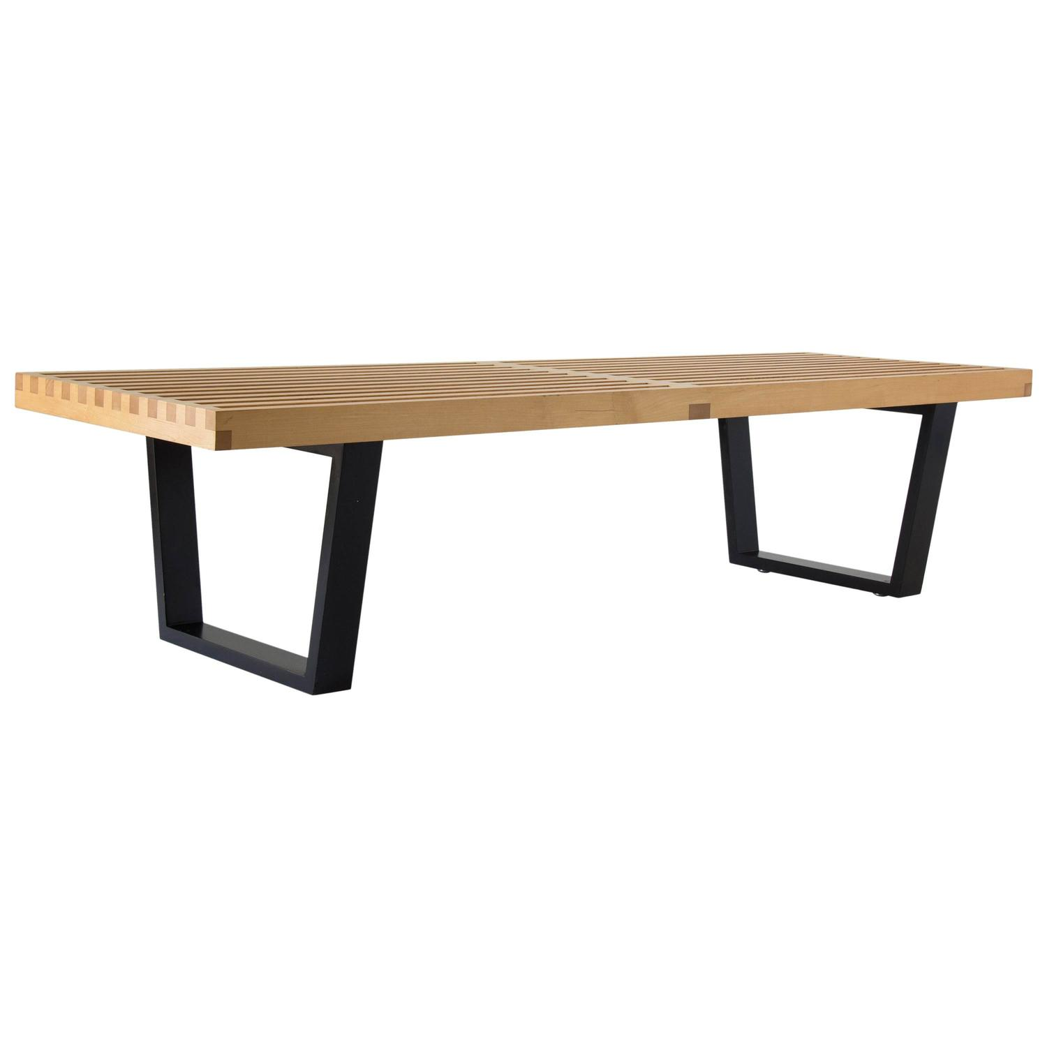 George Nelson Platform Bench For Sale At 1stdibs