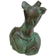 Bronze Woman Torso