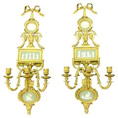Original Antique E.F. Caldwell Museum Sconces