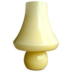 Very Large Murano Glass Mushroom Lamp