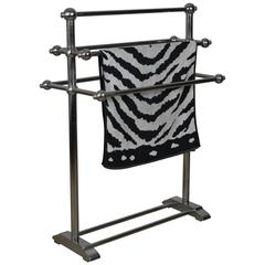 Art Deco Towel Rack, Towel Warmer