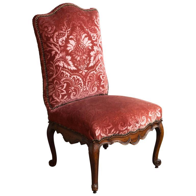 Louis XV Walnut Chair at 1stdibs