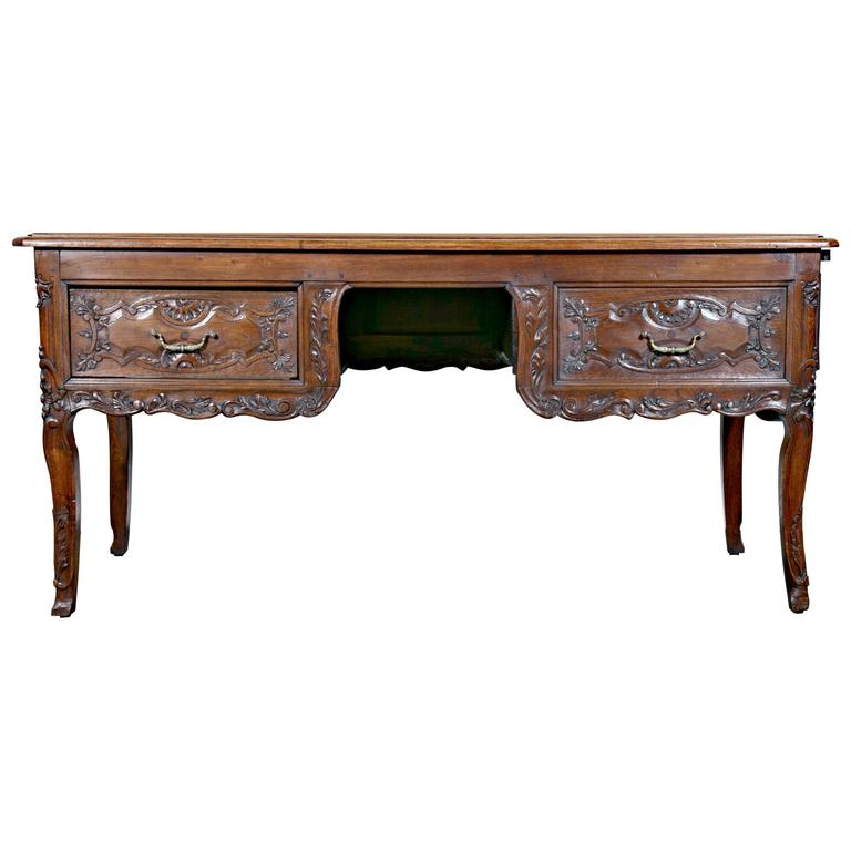early 19th century louis xv style bureau plat for sale at 1stdibs