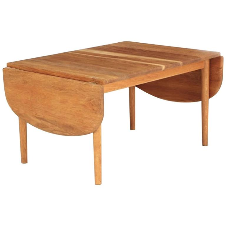 Coffee Table By Hans Wegner For Getama At 1stdibs